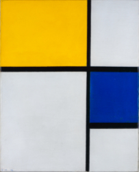 Piet Mondrian, Composition No. 1, 1929