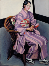 YASUI Sotaro, Seated Woman, 1930