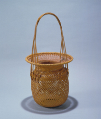 "IIZUKA Rokansai, Flower Basket entitled ""Nobleness"", c. 1926"