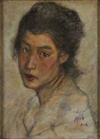 AOKI Shgeru, Head of a Woman, 1904