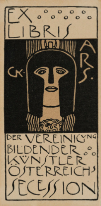 Gustav Klimt, Ex Libris for the Vienna Secession, c.1900
