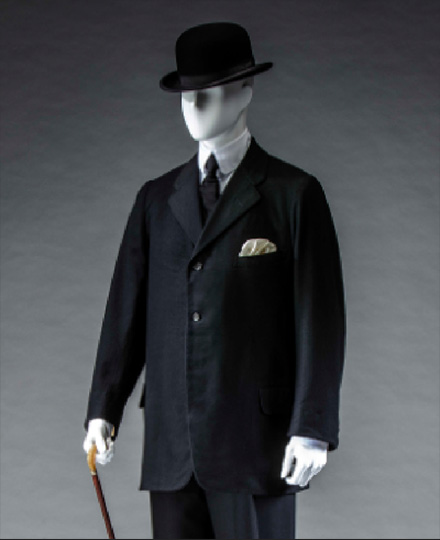 Rogers Peet Company, Suit (jacket, waistcoat and trousers), 1900s, Collection of the KCI, photo by Takashi Hatakeyama