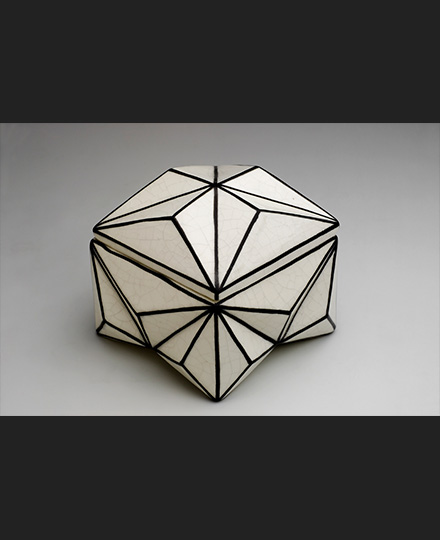 Pavel Janák, Crystal-shaped box, 1911, Museum of Decorative Arts in Prague