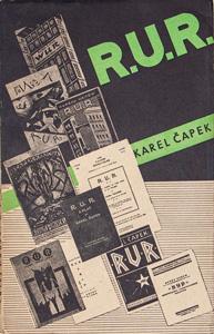 K. Čapek, R.U.R., 1946 Cover design: O. MrkvičkaNakanoshima Museum of Art, Osaka