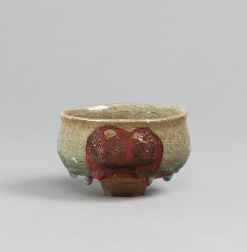 KAWAI Kanjiro, Bowl Weeping Tears, c.1919