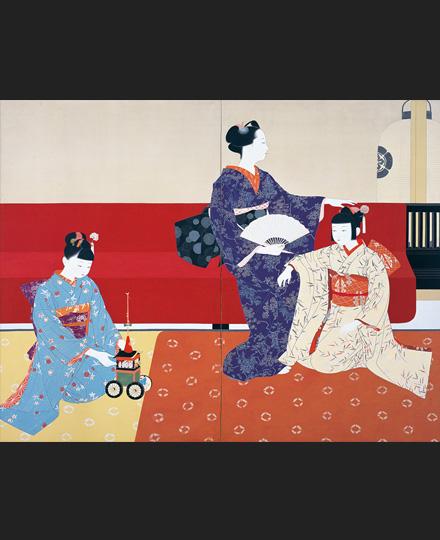 KITAZAWA Eigetsu, Gion Festival, 1936