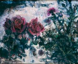 SUDA Kunitaro, Roses and Thistles, 1951,The National Museum of Modern Art, Kyoto