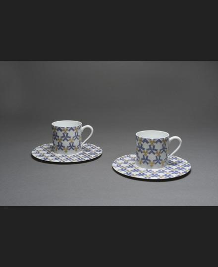 Cup-and-saucer set 'Minori' (Ripening), 2016
