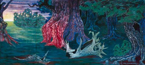 YAMAZAKI Takashi, Forest, 1949