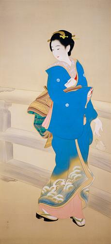 MIKI Suizan, The Flower of Meiji Restoration (Ikumatsu), 1940