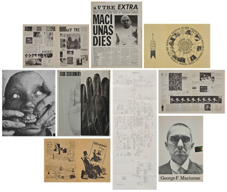 selections from materials related to Fluxus