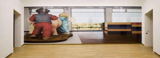 Louise Lawler, Produced in 1988, Purchased in 1989; Produced in 1989, Purchased in 1993 (adjusted to fit), 1995/2010. Installation view, Stedelijk Museum Amsterdam, 2010