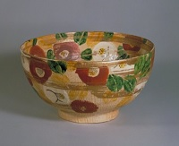 Bowl with Disign of Camellia