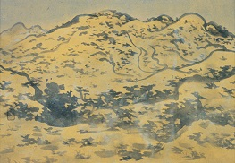 Murakami Kagaku, Calm Winter Mountain, 1934