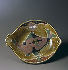 KAWAI, Kanjiro, Bowl of Fish Design, 1951