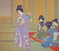 上村松園《舞仕度》 1914年