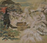冨田溪仙《醍醐之華》 1926年