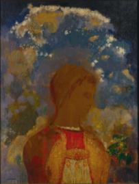 オディロン・ルドン《若き日の仏陀》 1905年
