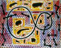 長谷川三郎《蝶の軌跡》 1937年