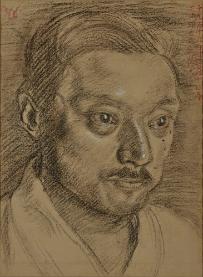 岸田劉生《芝川照吉肖像》 1919年