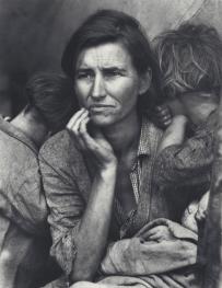 ドロシア・ラング《移民の母》 1936年