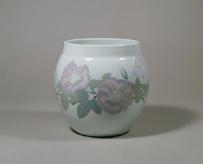 楠部彌弌《彩埏「清晨」花瓶》 1983年