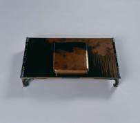 赤塚自得《竹林図蒔絵硯箱及文台》 1923年