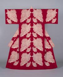 芹沢銈介《型染鯛文着物》 1968年