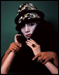 森村泰昌《だぶらかし(マルセル)》 1988年