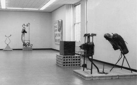 「現代美術の動向ー絵画と彫塑-」1964(昭和39)年
