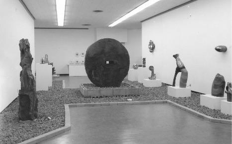 「現代の陶芸ーアメリカ、カナダ、メキシコと日本」1971(昭和46)年