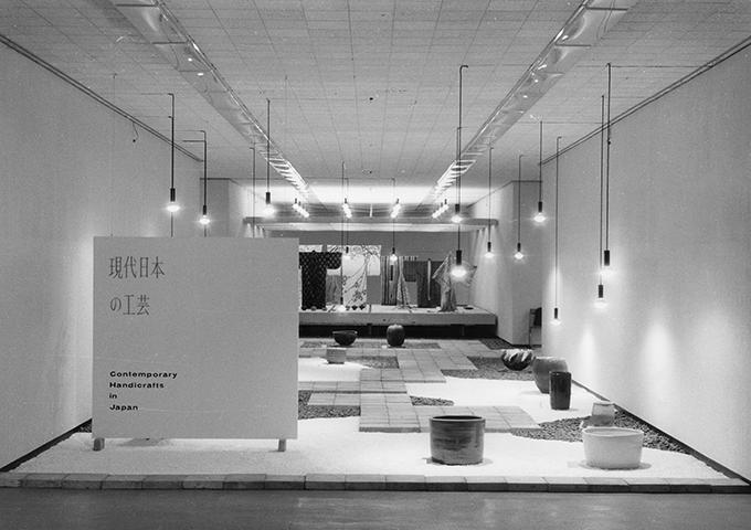「現代日本の工芸」展会場1964年