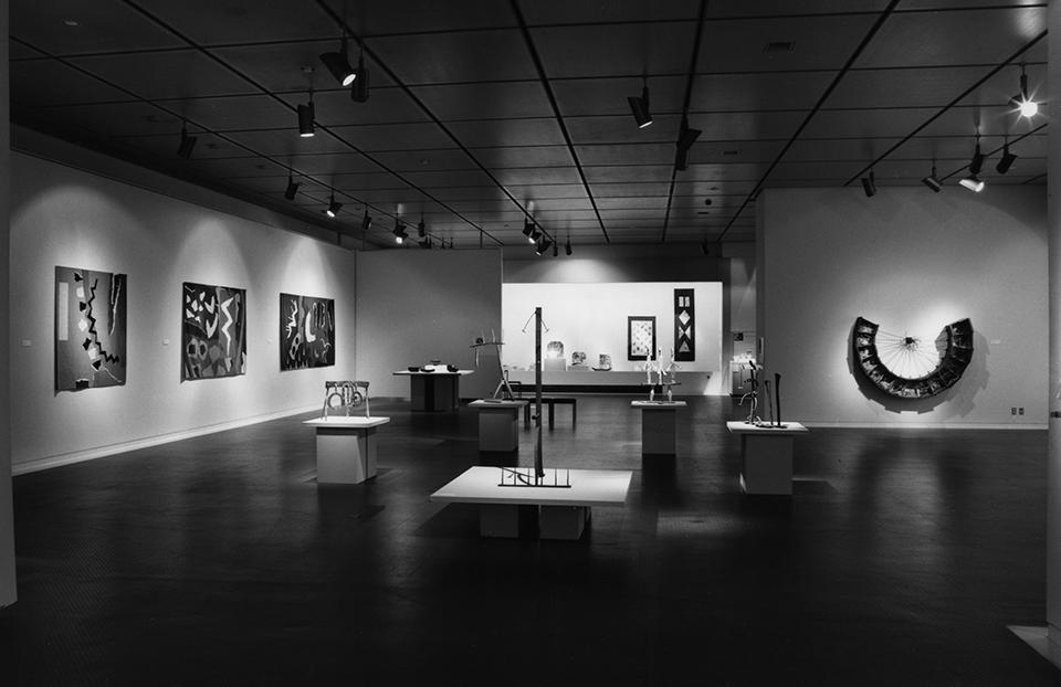 「現代イギリスの工芸」展会場1988年
