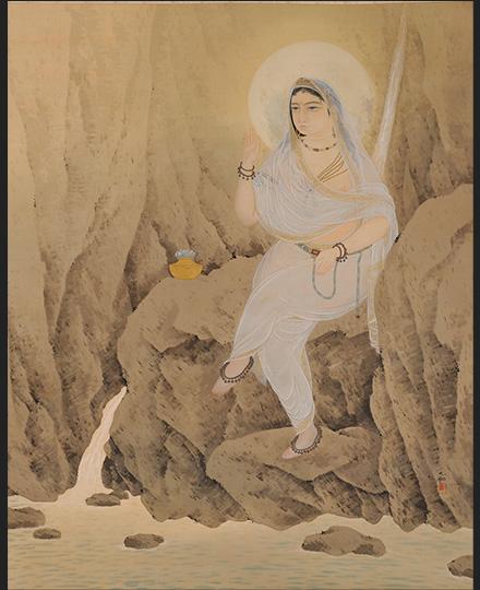 横山大観《白衣観音》 1908(明治41)年