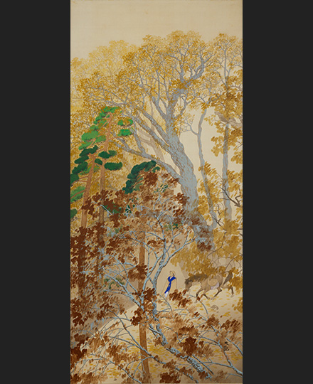 横山大観《山路》1912(明治45)年 京都国立近代美術館