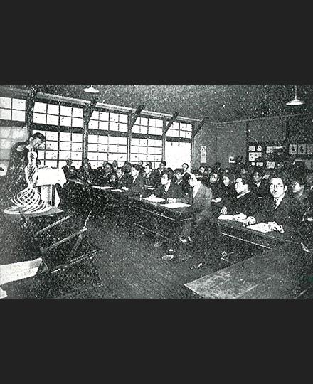 「和歌山市に於ける構成教育講習会」(『建築工芸アイシーオール』1933年3月号より)