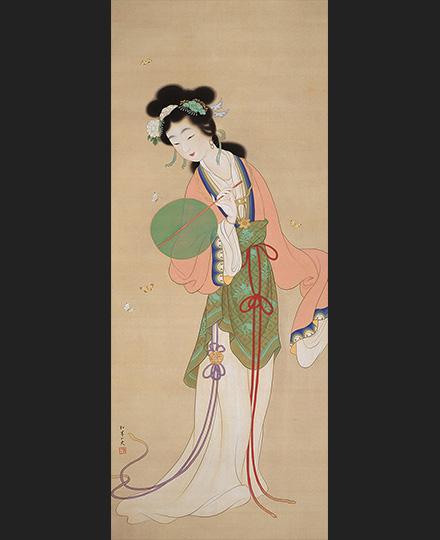上村松園《楚蓮香之図》1924(大正13)年頃 京都国立近代美術館
