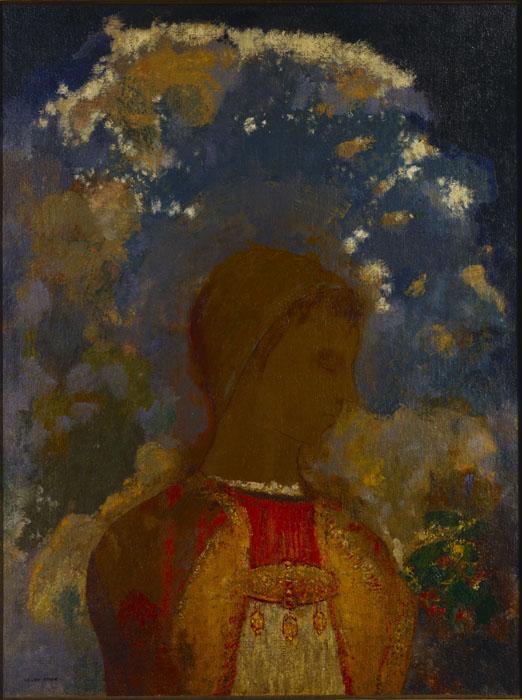 オディロン・ルドン《若き日の仏陀》1905年