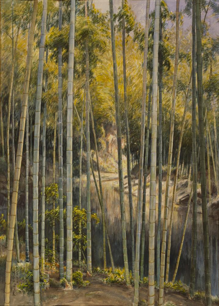 河合新蔵《緑蔭》1934年