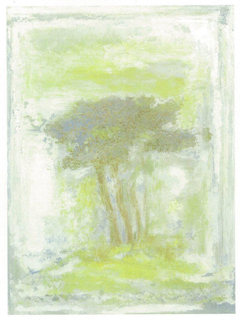 岩倉 壽《木のある空間》2009年
