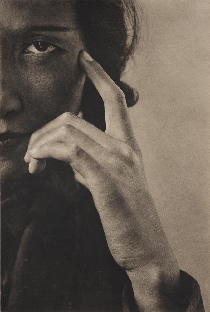 野島康三《細川ちか子氏》1932年