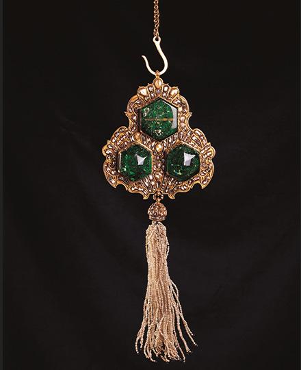 《玉座用吊るし飾り》18世紀後半 トプカプ宮殿博物館