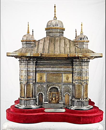 《スルタン・アフメト3世の施水場模型》1893年8月16日 トプカプ宮殿博物館