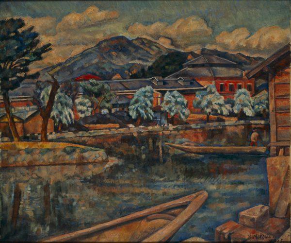三井文二《京都疎水ダム》1914年