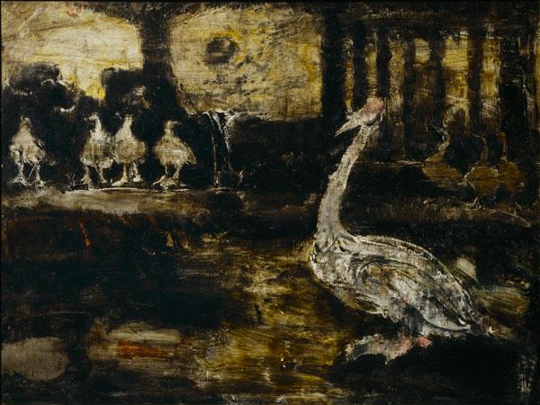 須田国太郎《動物園》1953(昭和28)年 京都国立近代美術館蔵