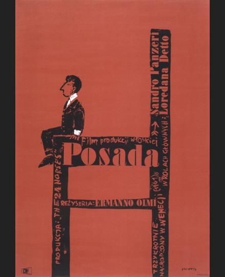 ヴァルデマル・シフィェジ『就職』1964年(監督:エルマンノ・オルミ、1961年)、武蔵野美術大学 美術館・図書館蔵 ※前期展示