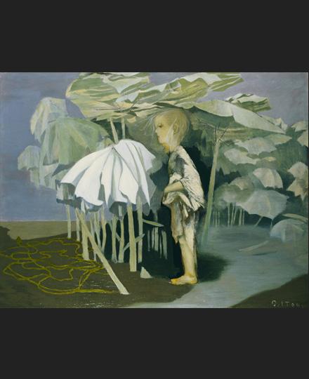 伊藤久三郎《雨、或いは感傷》1937(昭和12)年