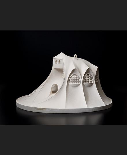 瀧澤眞弓 「山の家」模型 1921(大正10)年 再制作:1986(昭和61)年、瀧澤眞弓(監修)