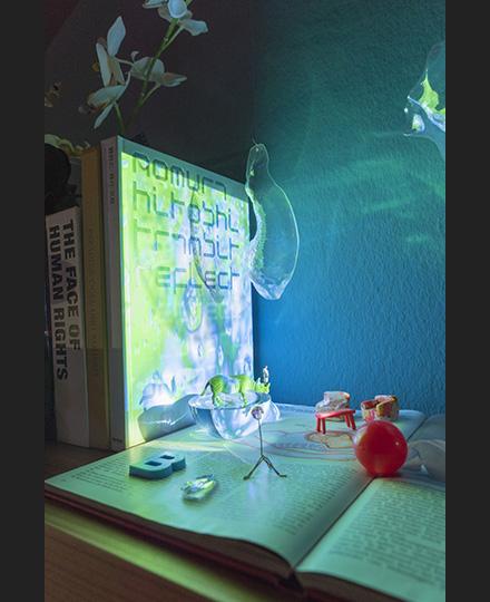 《私の空間に明るみを》2008年