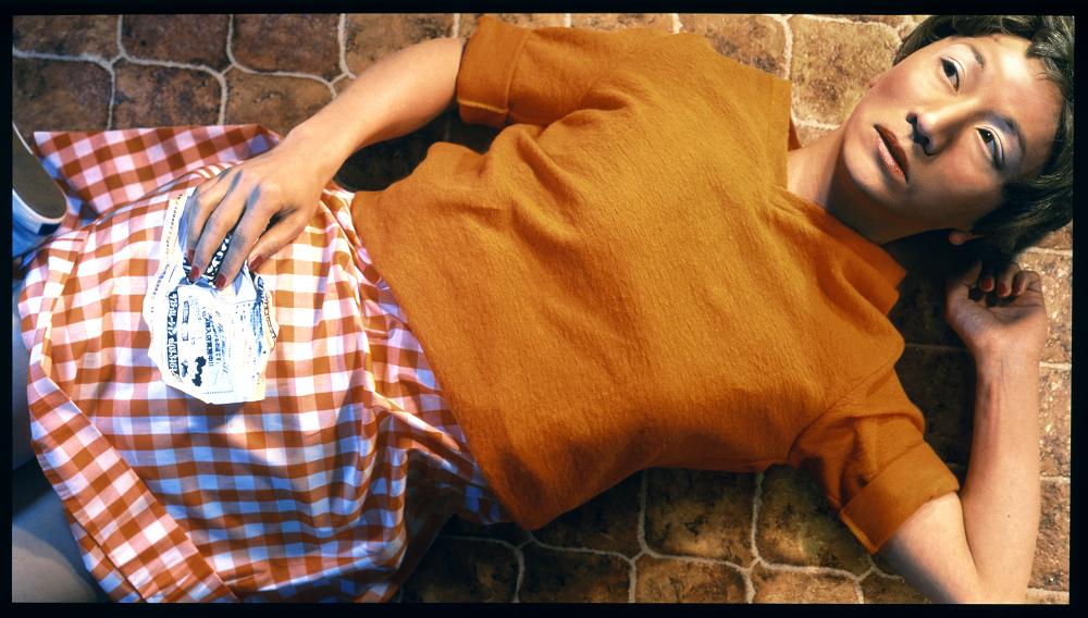 森村泰昌《私の妹のために/シンディー・シャーマンに捧ぐ》1998年